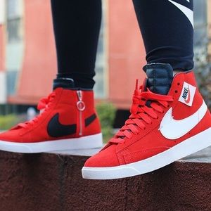 Brand New Nike Blazer Rebel Mid Red